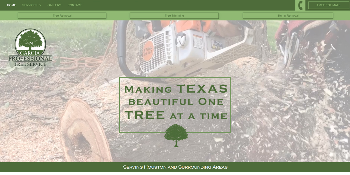 """Featured image for """"Garcia Professional Tree Service"""""""