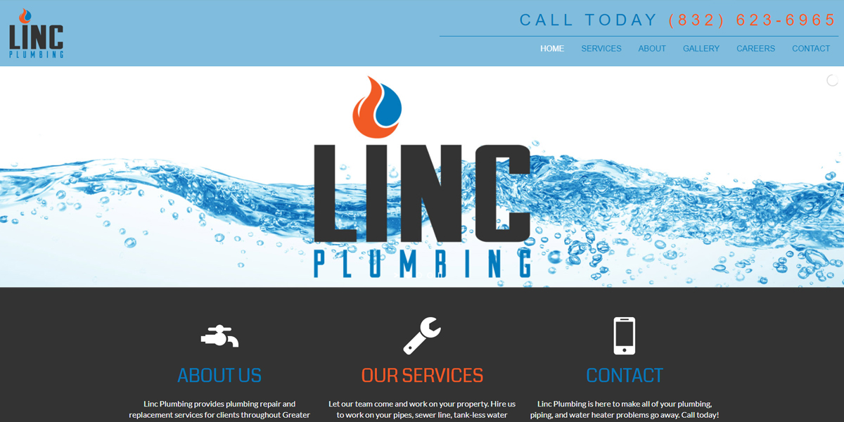 """Featured image for """"Linc Plumbing"""""""